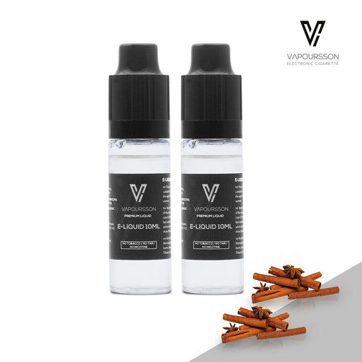 VAPOURSSON 2 X 10ml E Liquid | Cinnamon |