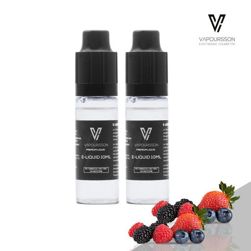 E-liquids,0mg,10ml,2 Pack,Vapoursson,Berry Mix