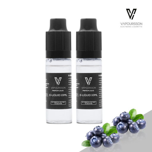 E-liquids,0mg,10ml,2 Pack,Vapoursson,Blueberry