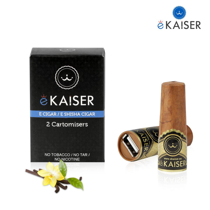 Cigar Cartomizers,2 Pack,Vanilla,ekaiser