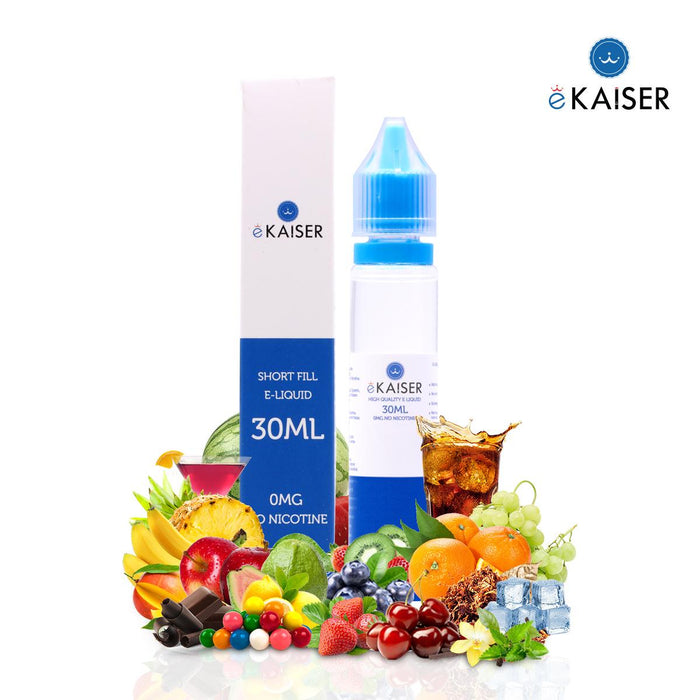 Shortfill, 30ml, 0mg, eKaiser, Tobacco (USA)