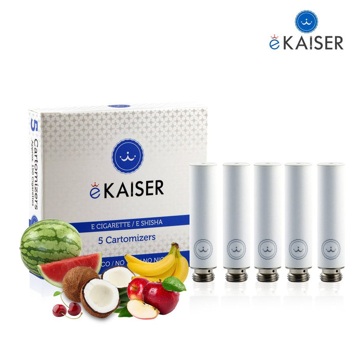 Cigarette Cartomizers,5 Pack,Fruit Mix,eKaiser