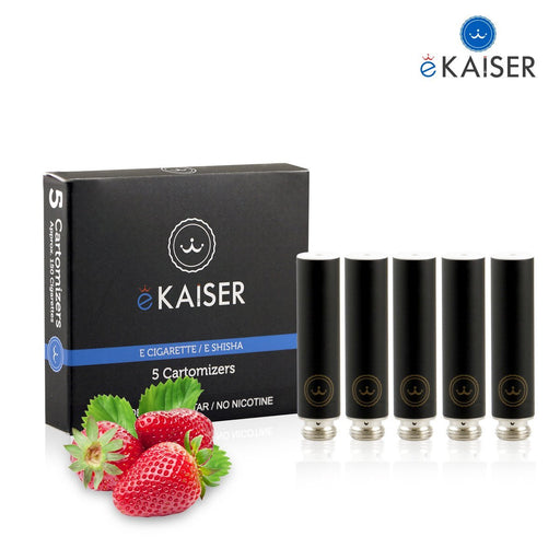 Cigarette Cartomizers,5 Pack,Strawberry,eKaiser