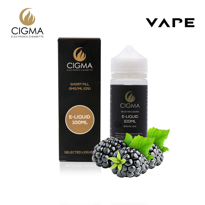 Shortfill, 100ml, 0mg, Cigma, Blackberry