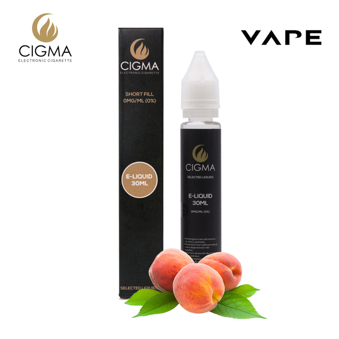 Cigma 30ml Peach