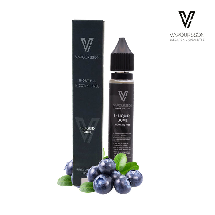 Shortfill, 30ml, 0mg, Vapoursson, Blueberry