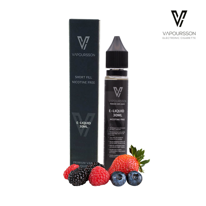 Shortfill, 30ml, 0mg, Vapoursson, Berry Mix