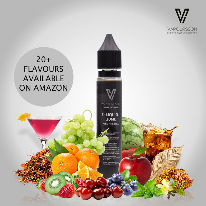 Vapoursson e-Liquid - Mango & Peach 0mg 30ml Shortfill | Cigee