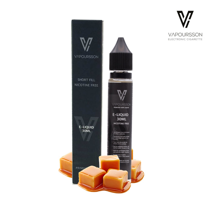 Shortfill, 30ml, 0mg, Vapoursson, Caramel