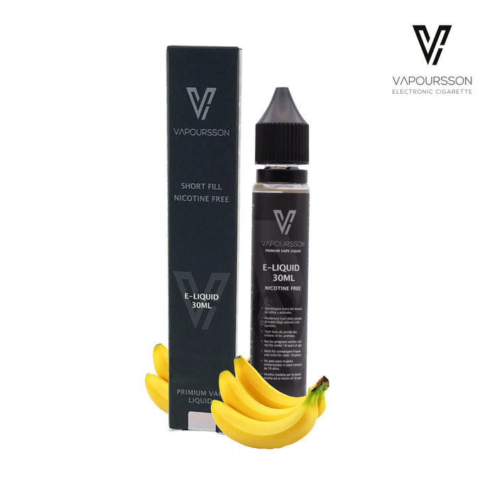 Shortfill, 30ml, 0mg, Vapoursson, Banana