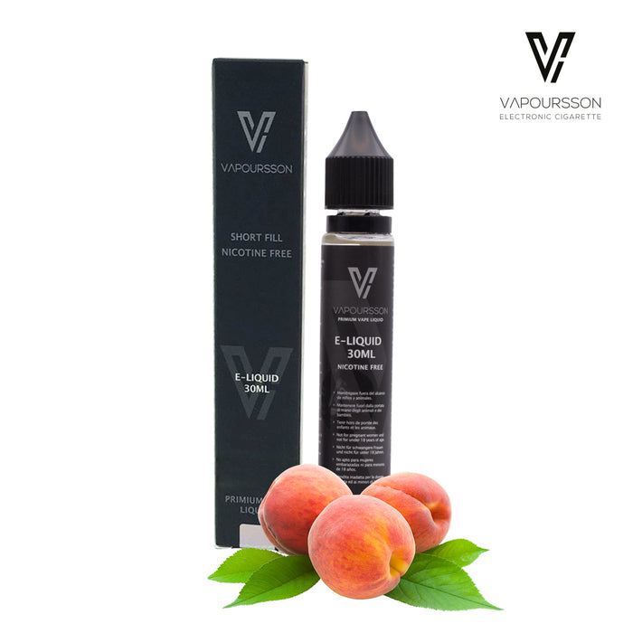 Shortfill, 30ml, 0mg, Vapoursson, Juicy Peach