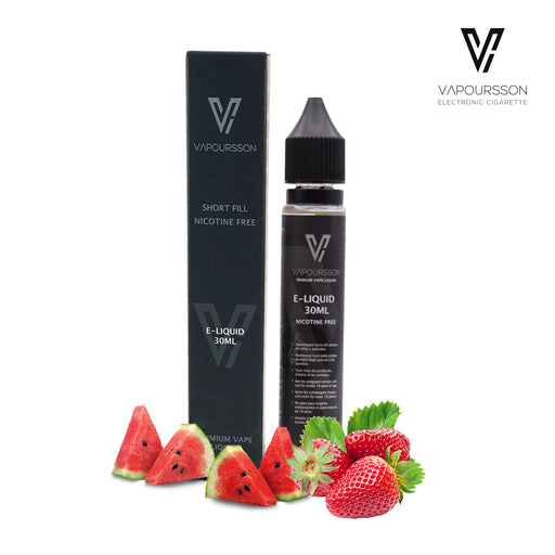 Shortfill, 30ml, 0mg, Vapoursson, Strawberry - watermelon