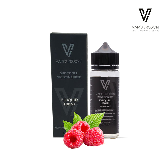 Shortfill, 100ml, 0mg, Vapoursson, Raspberry