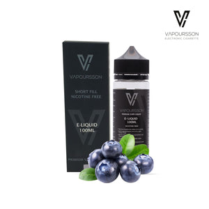 Vapoursson 100ml Blueberry