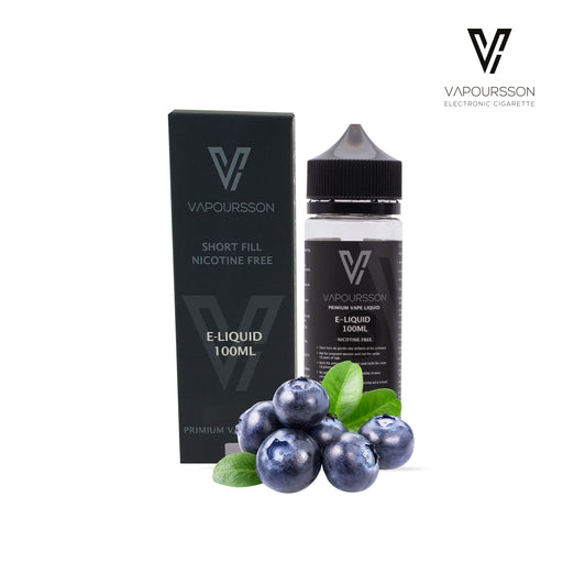 Shortfill, 100ml, 0mg, Vapoursson, Blueberry
