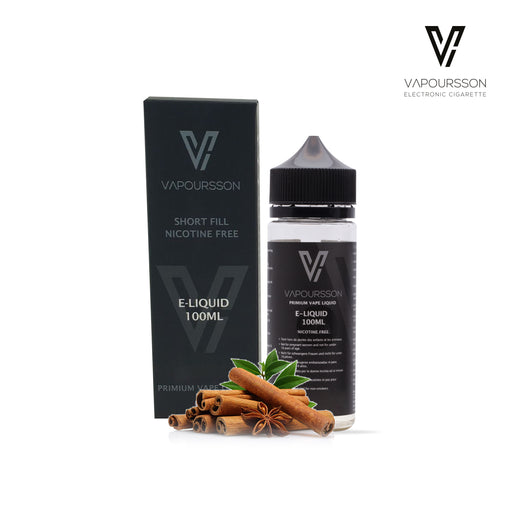 Shortfill, 100ml, 0mg, Vapoursson, Cinnamon