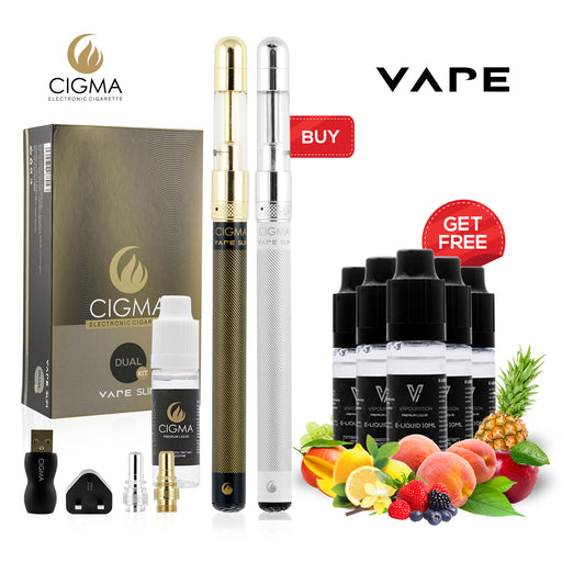 Cigma Vape Slim Full Kit + eLiquid, 105852, 106130