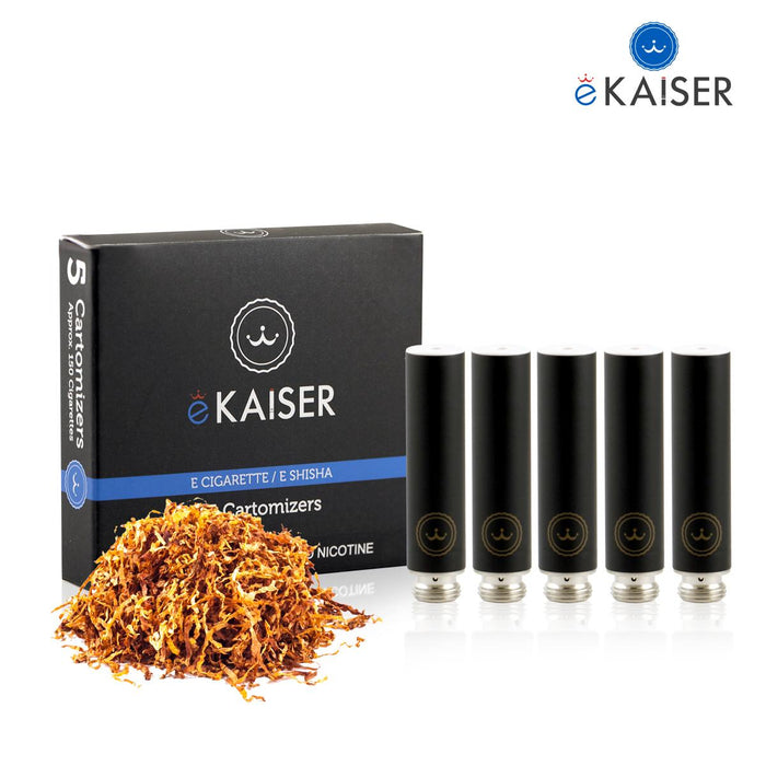 Ekaiser 5 pack Cartomizer Gold Tobacco