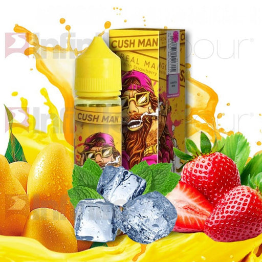 Nasty Juice - Cush Man Real E-Liquid - Strawberry - 60ml