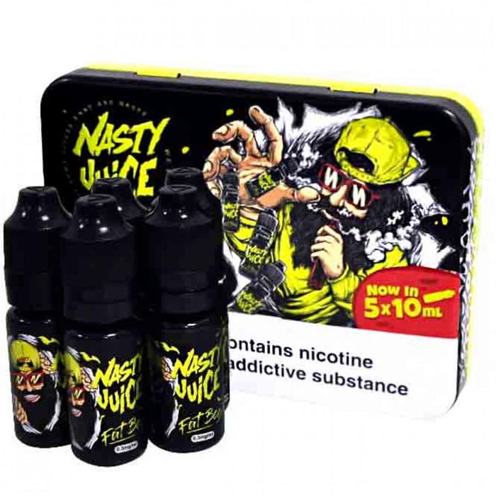 Nasty Juice - Fat Boy E-Liquid - 0mg - 10ml