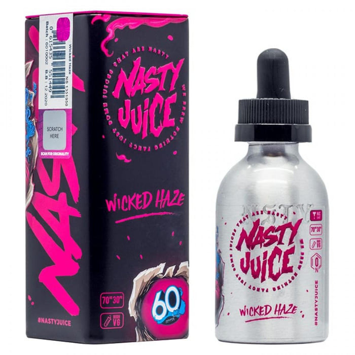 Nasty Juice - Wicked Haze E-Liquid - 50ml