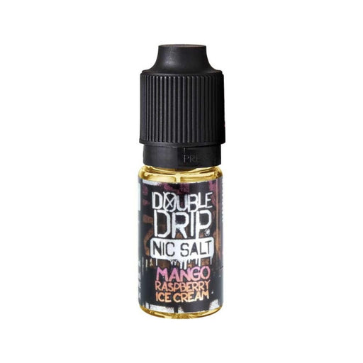 Double Drip - Nic Salt - Mango Raspberry Ice Cream - 20mg - 10ml