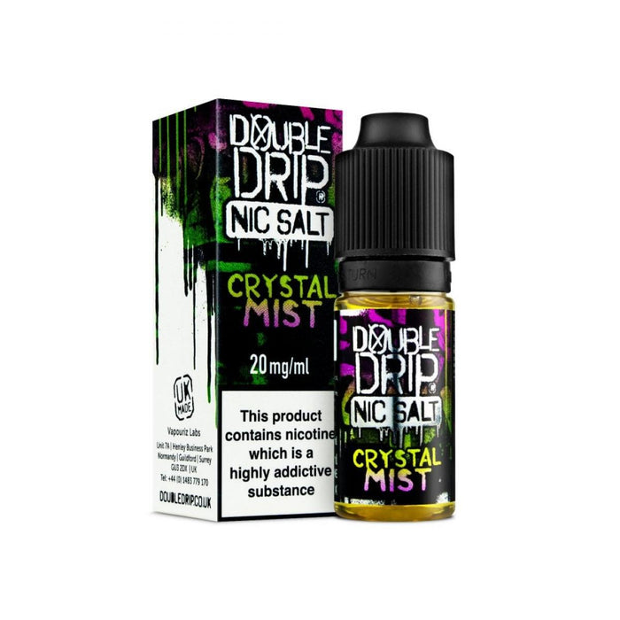 Double Drip Nic Salt Crystal Mist 20mg 10ml