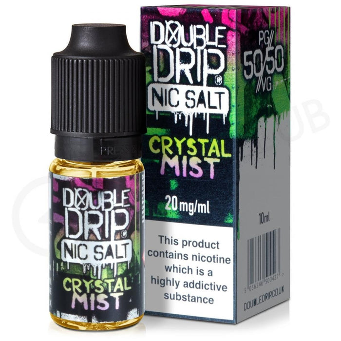 Double Drip - Nic Salt - Crystal Mist - 20mg