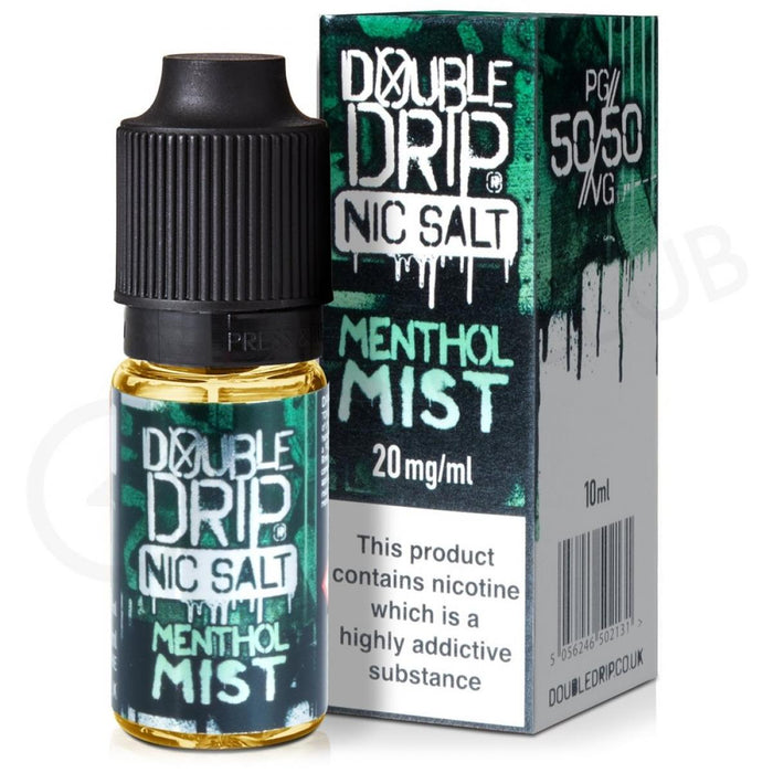 Double Drip - Nic Salt - Menthol Mist - 20mg
