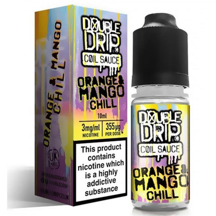 Double Drip - Coil Sauce - Orange And Mango Chill - 6mg - 10ml