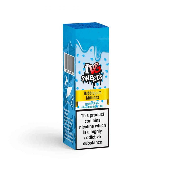 IVG E-Liquid Bubblegum Millions 6mg 10ml