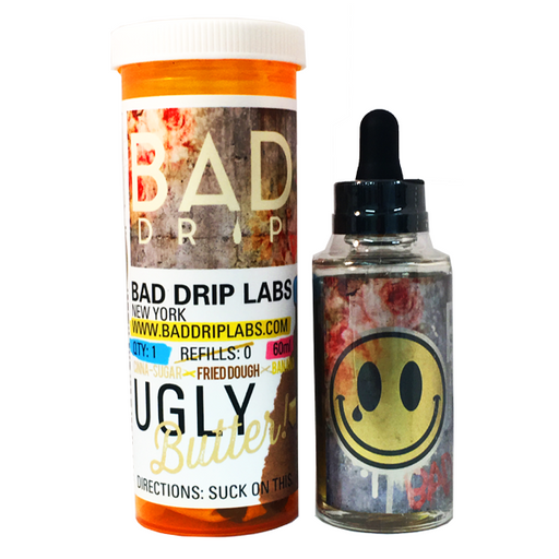 Ugly Butter E-Liquid 60ml By Bad Drip