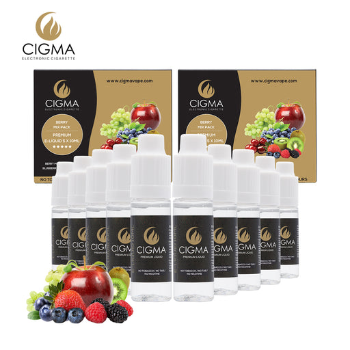 Berry mix 5 pack Liquid CIGMA 2 Pack bundle