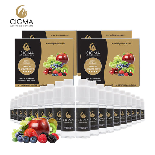 Berry mix 5 pack Liquid CIGMA 5 Pack bundle