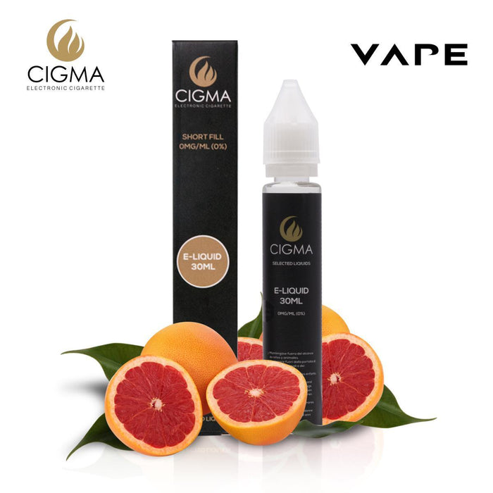 CIGMA Pink Lemon Ice 30ml E Liquid 0mg | New Short fill bottles | Premium Quality Formula with Only High Grade Ingredients | Made For Electronic Cigarette and E Shisha | Eliquid