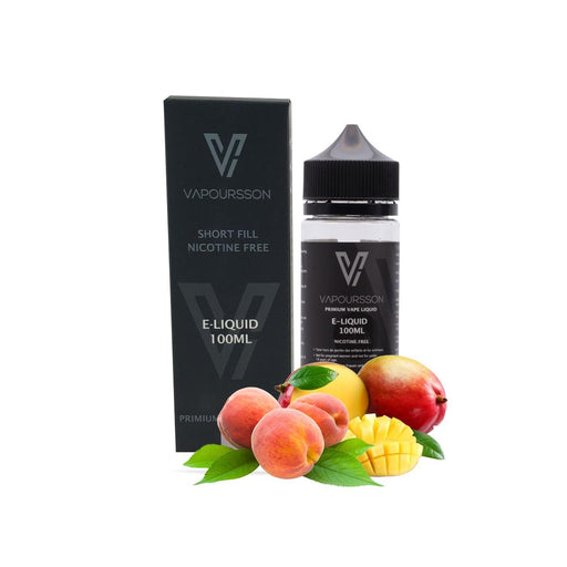 Vapoursson e-Liquid - Mango & Peach 0mg 100ml Shortfill | Cigee