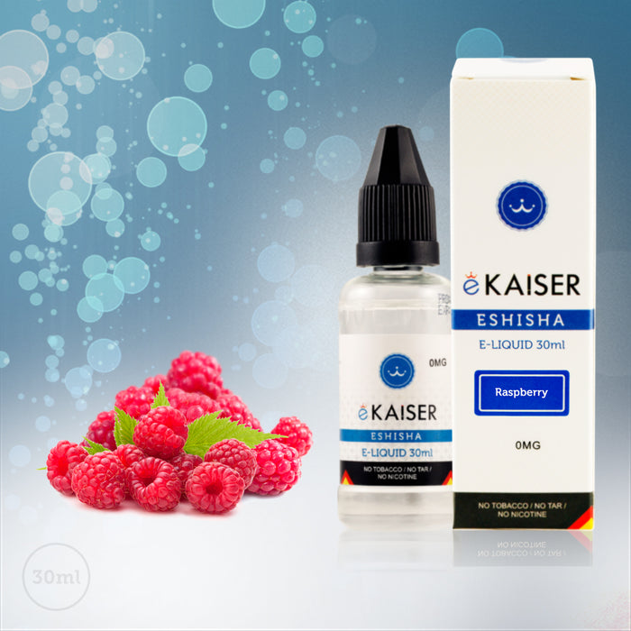 E liquid |Blue eKaiser Range | Rasberry 30ml | Refill For Electronic Cigarette & E Shisha