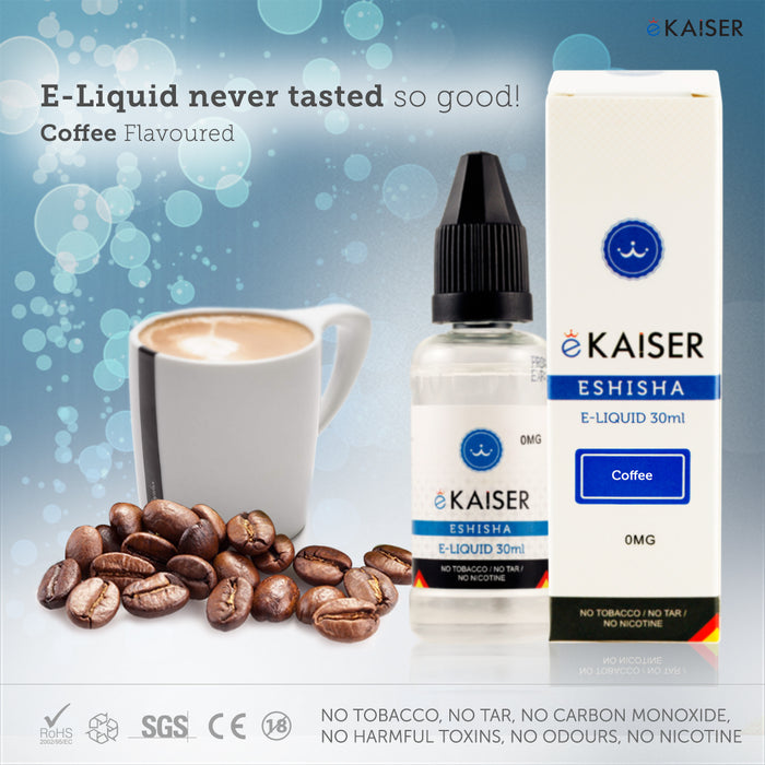 E liquid |Blue eKaiser Range | Coffee Gum 30ml | Refill For Electronic Cigarette & E Shisha - eKaiser - CIGEE