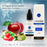 E liquid |Blue eKaiser Range | Apple, Kiwi, Strawberry 30ml | Refill For Electronic Cigarette & E Shisha