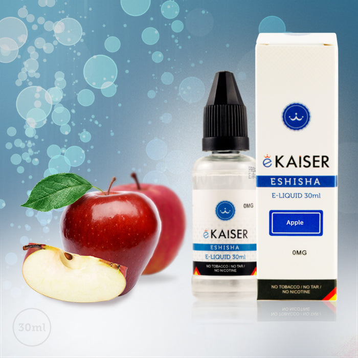 E liquid |Blue eKaiser Range | Apple 30ml | Refill For Electronic Cigarette & E Shisha