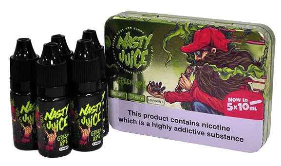 Nasty Juice - Green Ape E-Liquid - 3mg - 10ml
