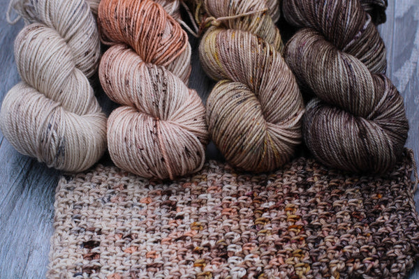 Neutral Fade - Colors Sold Individually {Wicked DK} Superwash Merino