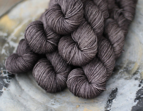 Nevermore {Dyed to Order} Choose Your Yarn Base