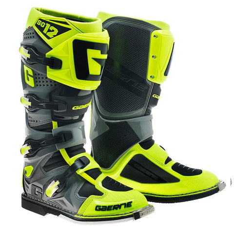 GAERNE SG12 BOOT - BLACK / YELLOW
