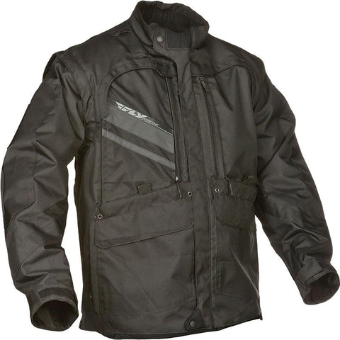 FLY PATROL JACKET - BLACK
