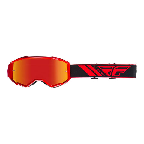 FLY GOGGLE '19 ZONE RED RED MIR/SMK LENS