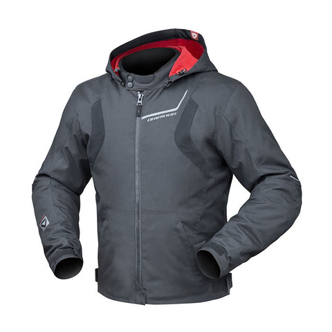 DRIRIDER URBAN 2 HOODY JACKET - BLACK