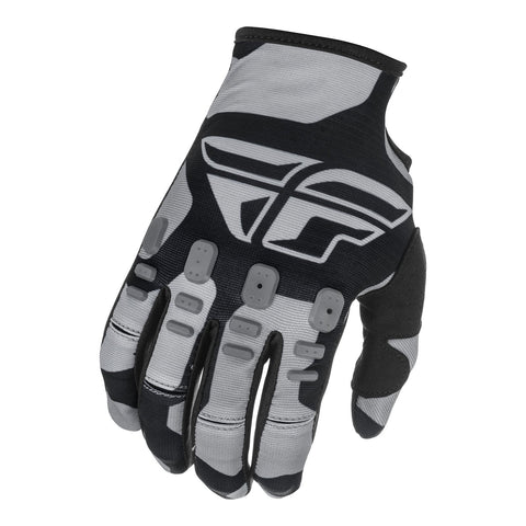 Fly 2021 Kinetic K221 Youth Glove - Black / Grey