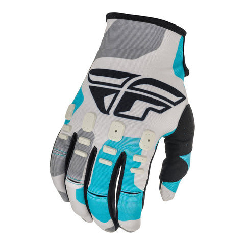 Fly 2021 Kinetic K221 Glove - Grey / Blue