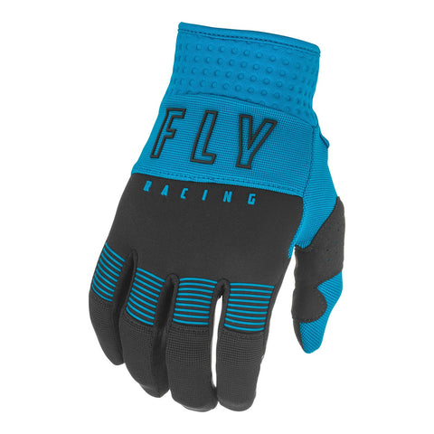 Fly 2021 F-16 Youth Glove - Blue / Black